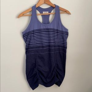 Athlete fastest track tank top size m striped